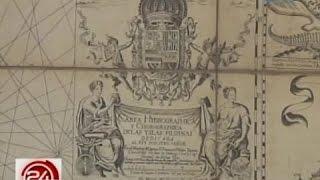 24 Oras: Isang mapa noong taong 1734, patunay raw na sa Pilipi…