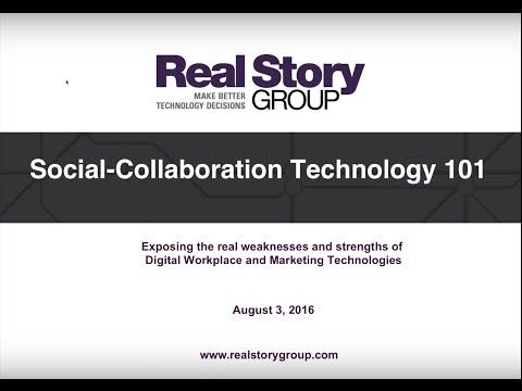 [Webinar] Enterprise Social-Collaboration Technology 101
