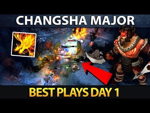 Changsha Major Playoffs - Best Plays Dota 2 - Day 1