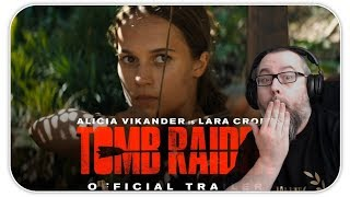 ROCK REACTS: TOMB RAIDER - Official Trailer #1