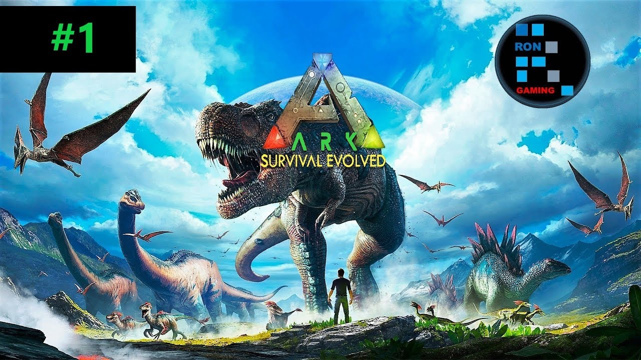 [Hindi] ARK SURVIVAL EVOLVED | Playing In Official Servers#1