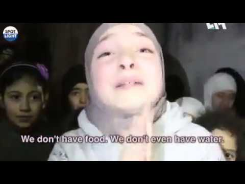 Syrian  Women asking for justice in which innocent  children, women and old person are killed