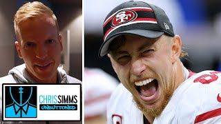 Chris Simms dissects George Kittle's huge catch vs. Saints on paper | NBC Sports