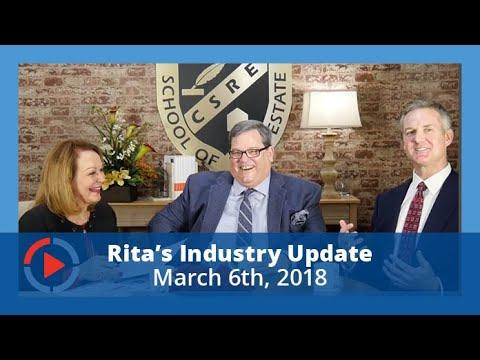 Industry Update with Rita Santamaria 3-6-2018