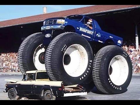 Самый большой внедорожник. Бигфут (Monster Truck)
