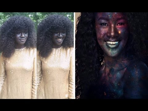 Thumbnail: 'The Darkest Model' who was bullied because of her skin color become fashion sensation