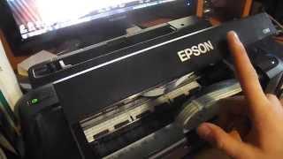 Сброс ошибки в принтере Epson L110