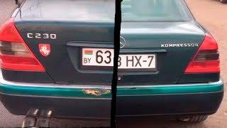видео Фары и тюнинг Mercedes W202