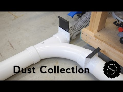 How to Setup a Dust Collection System | PVC Pipe