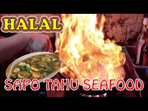 RESEP SAPO TAHU SEAFOOD DENGAN TEHNIK FLAMBE , SMOKY MANTAP !