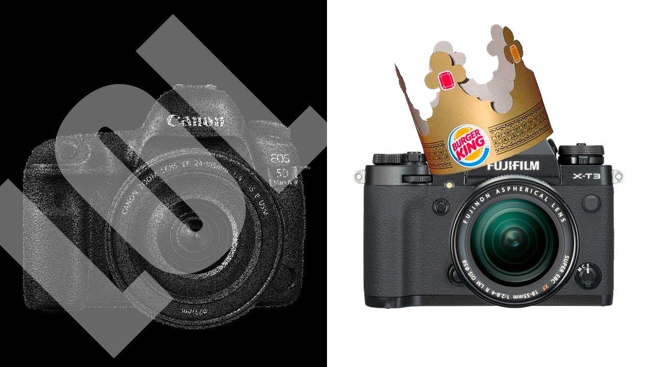Fujifilm VS Canon - Atheist X-T3 destroys Catholic 5D4!