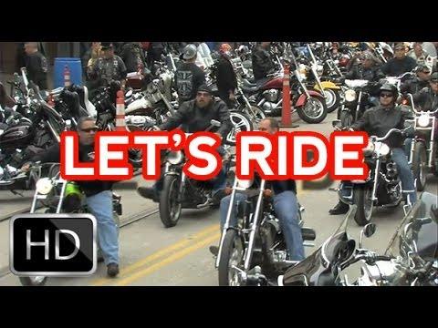 Motorcycle Documentary - Let's Ride - Dallas Biker Club Documentary (HD)