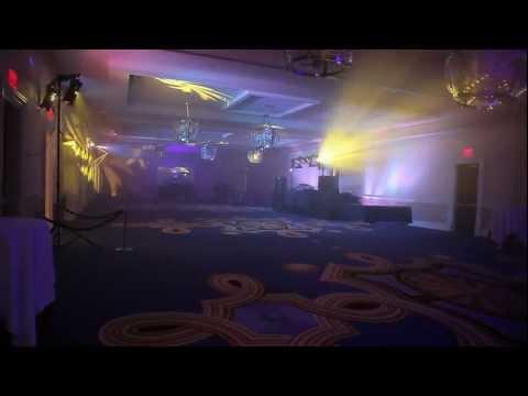 Maskell's nightclub-style mobile DJ lighting rig demo at Big Night DC (version 2.5)