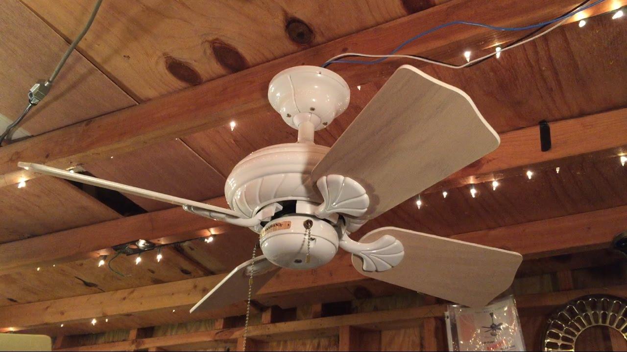 casablanca wailea ceiling fan 4 blades youtube