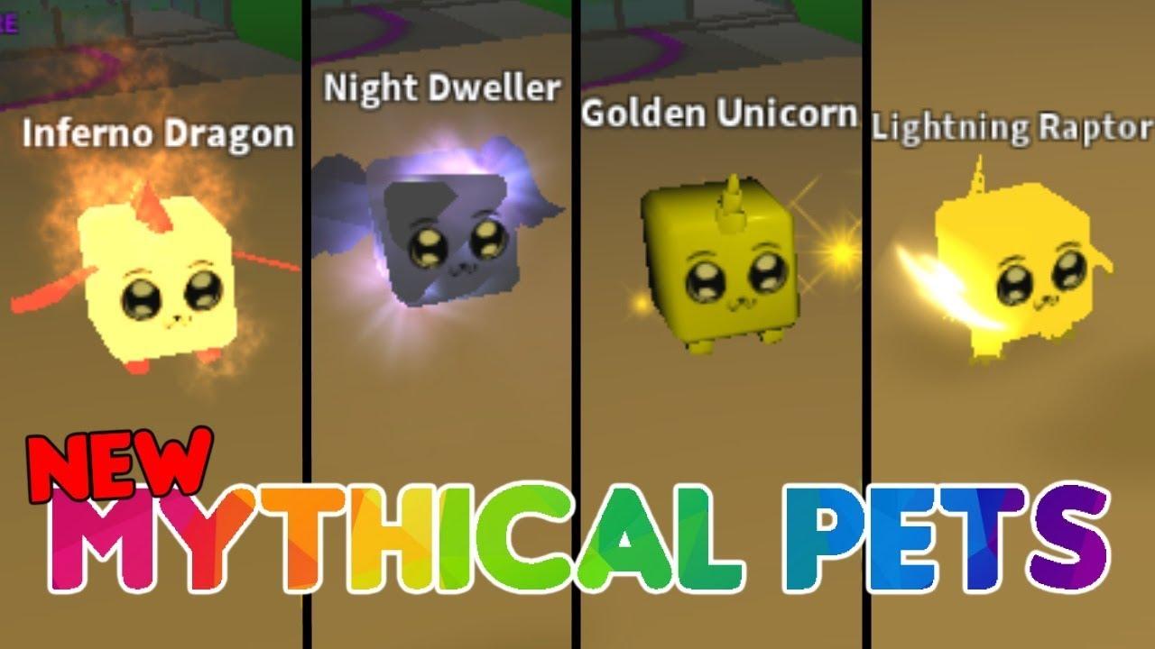 New Mythical Pets Mining Simulator Youtube