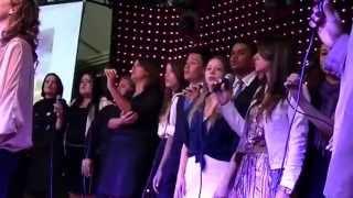 """Hino """"JERUSALÉM"""" com TRIO SHABACH, Grupos: GRIVY, RESTAURAÇÃO e SINTONIA VOCAL"""