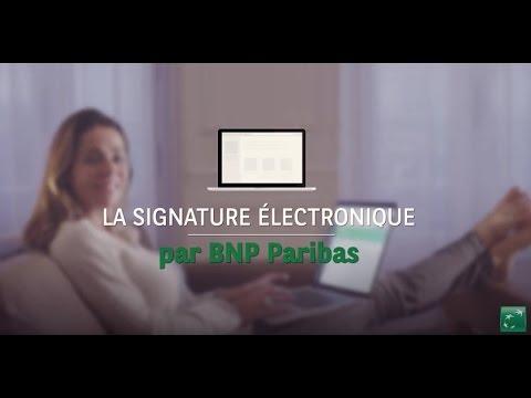 La souscription dématérialisée avec votre conseiller – BNP Paribas