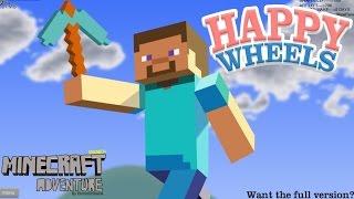 マインクラフトで主人公の顔を取ってみた-  Happy Wheels 実況プレイ - Part18 thumbnail