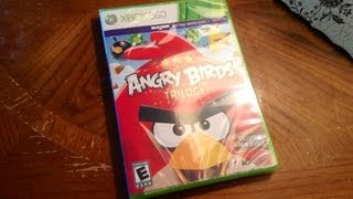 Angry Birds Trilogy(Unboxing)