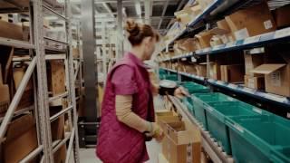 видео: Склад Катрен в Челябинске