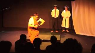 舞台疝気の虫より、ゴンゾータンバリン Crazy Funny Japanese Comic Dan...