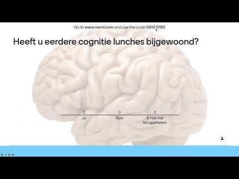 MS Cognitie Lunch april 2021:  De invloed van vermoeidheid en somberheid op de cognitieve functies