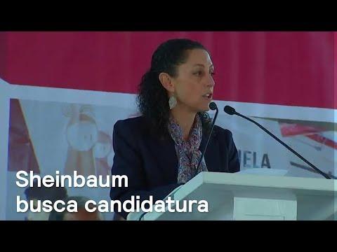 Sheinbaum buscará la candidatura para jefatura de la CDMX - Noticias con Karla Iberia