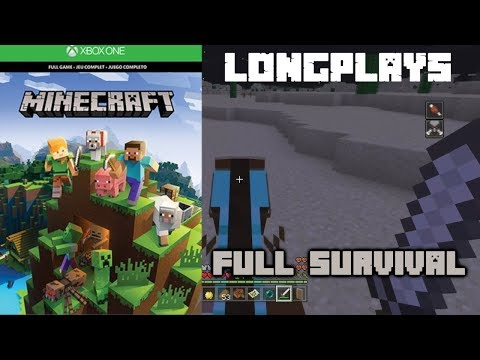 Minecraft - longplay Full Game (Xbox one) Walkthrough (No Commentary)