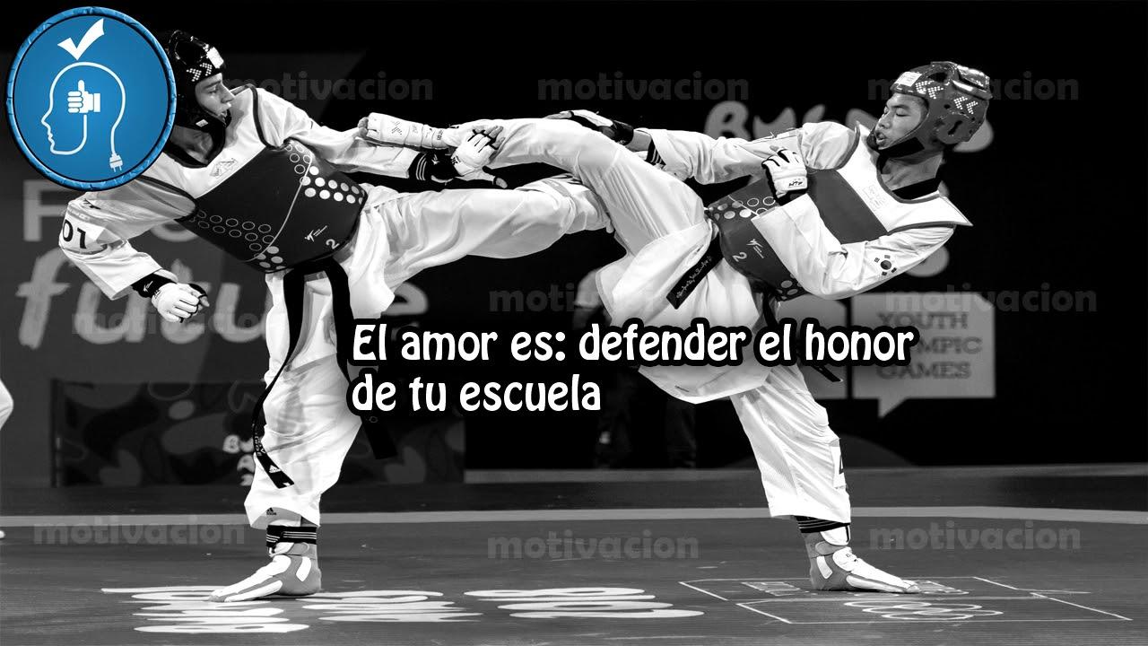 Frases De Disciplina Para Taekwondo Imagenes Poemax