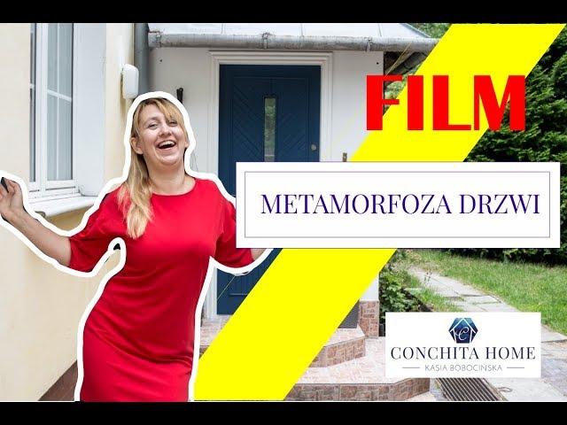 Metamorfoza starych drzwi wejściowych - #3 STARY DOM