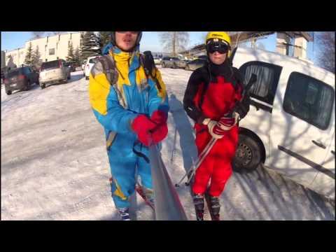 Вышгора Катание на горных лыжах Горнолыжный курорт Вышгород