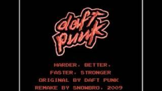 Harder, Better, Faster, Stronger (NES remake)
