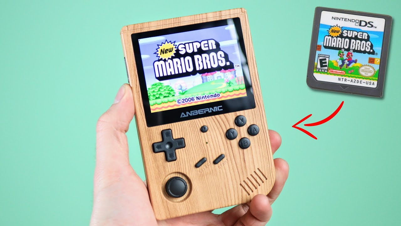 This GameBoy plays Nintendo DS Games