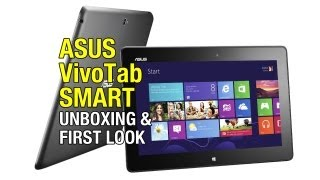 Asus VivoTab Smart Unboxing and First  mpressions