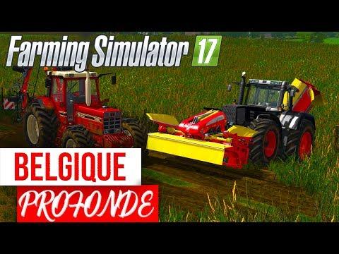Farming Simulator 17 | ON CONTINUE SUR BELGIQUE PROFONDE FS17 ! SAMEDI 18H