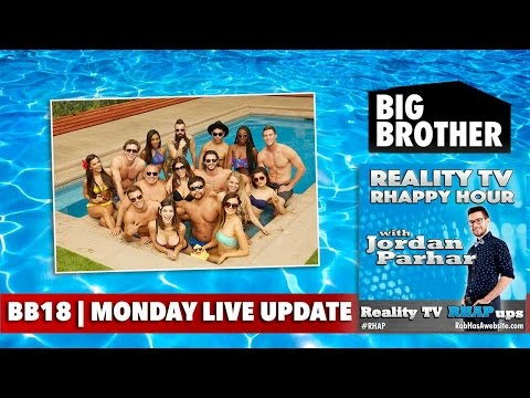 RHAPpy Hour | Big Brother 18 Live Feeds Update | Monday, Jun