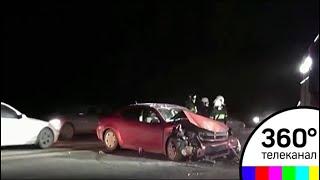 Серьезная авария произошла на 60-ом километре Киевского шоссе