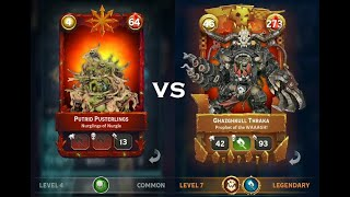 Warhammer Combat Cards: Beating a Completely Maxed Out Deck