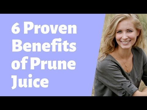 6 Proven Health Benefits Of Prune Juice