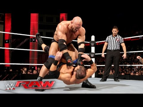 Ryback vs. Curtis Axel: Raw, March 7, 2016