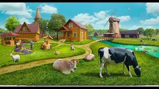 Обзор фермы.