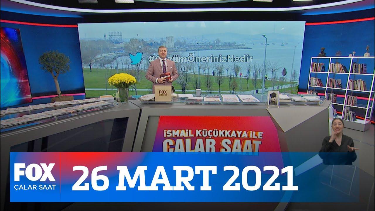İstanbul Sözleşmesi için tek yürek! 26 Mart 2021 İsmail Küçükkaya ile Çalar Saat