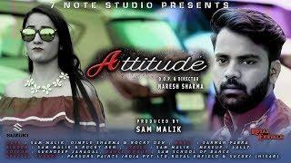 ATTITUDE | TEASER |NEW HARYANVI SONG| SAM MALIK|