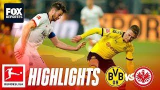 Borussia Dortmund 4 0 Eintracht Frankfurt | Highlights | Jornada 22 | Bundesliga