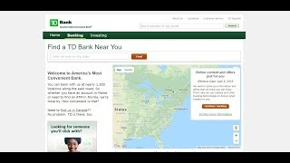TD Bank Location Near Me | TD Bank Internet Banking | Login Sign In