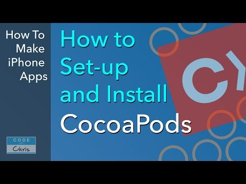 CocoaPods Tutorial - How To Install And Setup Cocoapods For Xcode