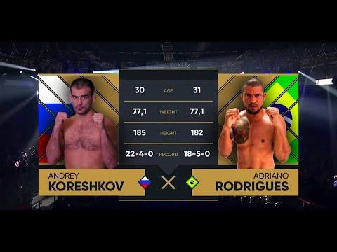 Андрей Корешков vs. Адриано Родригес / Andrei Koreshkov vs. Adriano Rodrigues