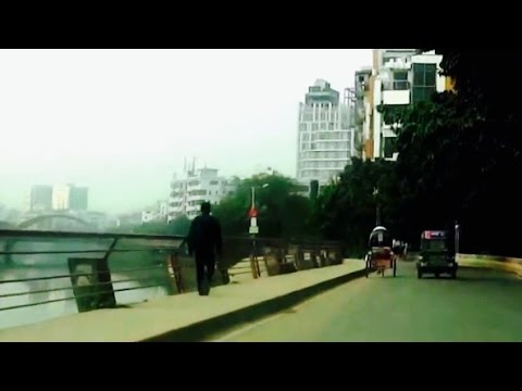 Dhaka City Drive 20 - Banani 11 Road from Gulshan Avenue - Bangladesh