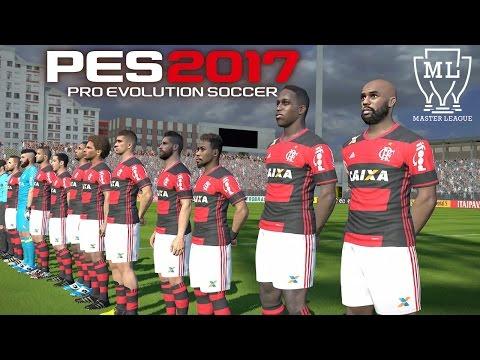 FLAMENGO vs PONTE PRETA, FINAL COPA DO BRASIL EMOCIONANTE !!! - PES 2017 - Master League #34