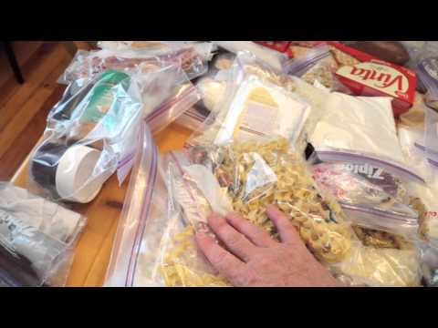Packing Food for a 20 Day Algonquin Canoe Trip